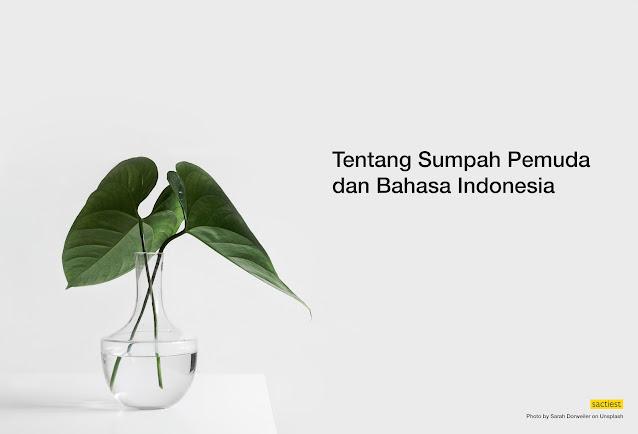 Sumpah Pemuda dan Bahasa Indonesia
