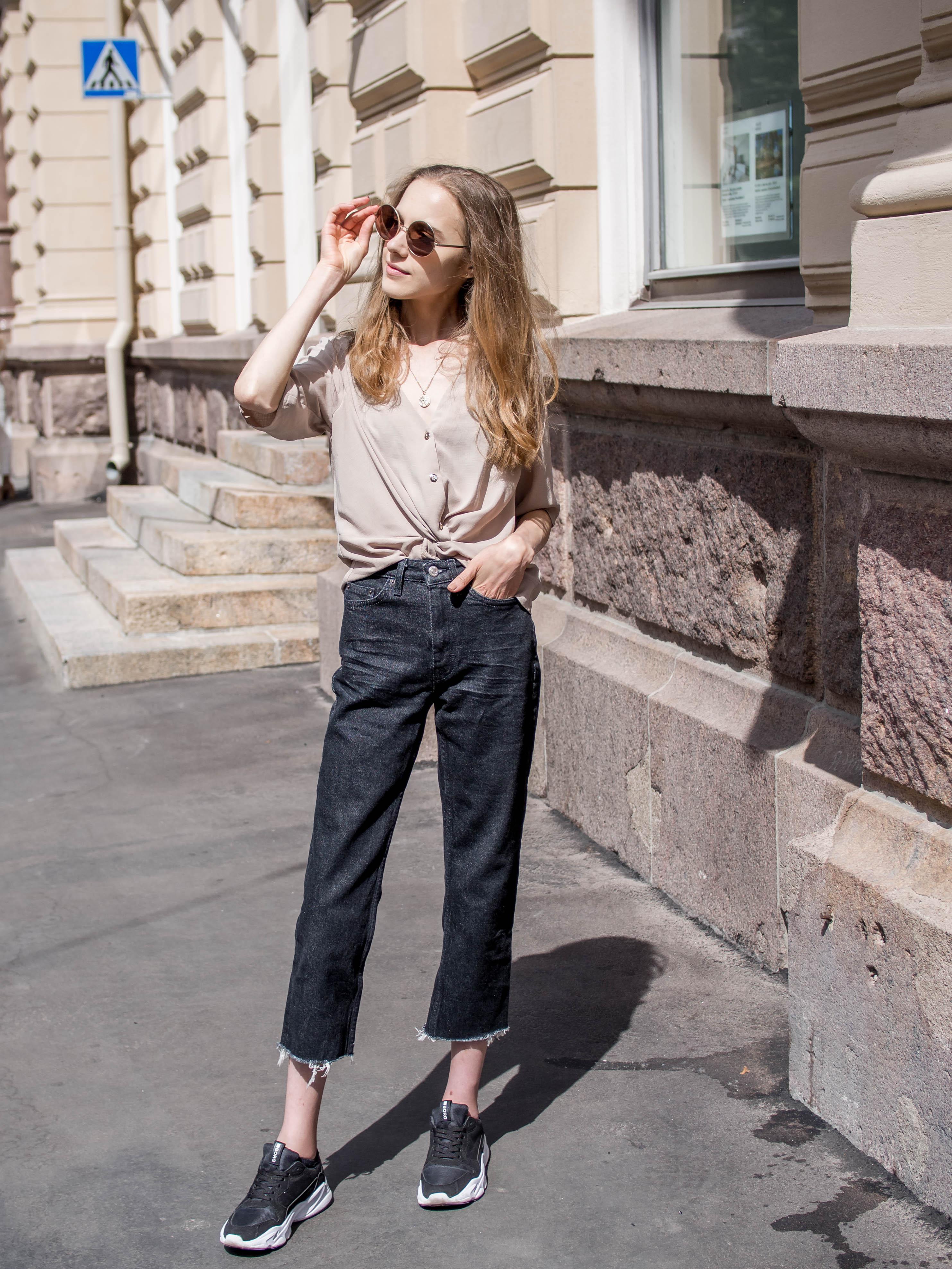 Outfit inspiration for colder summer days - Asuinspiraatiota viileämpiin kesäpäiviin