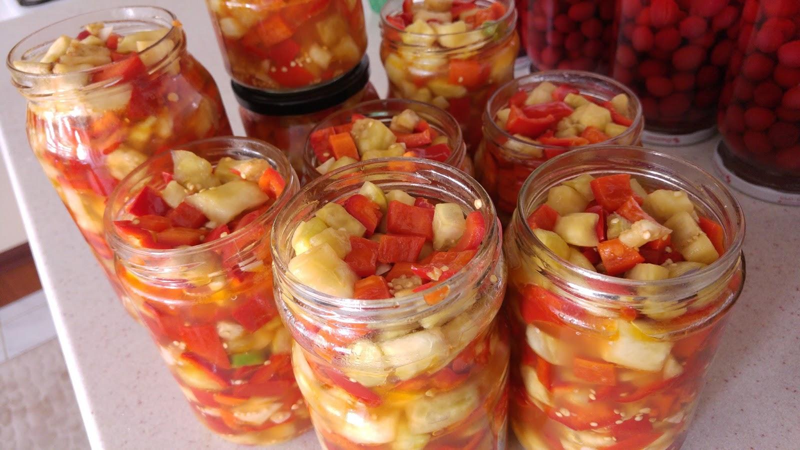 Sirkeli Patlıcan Konservesi Tarifi