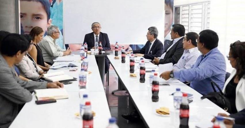 SUTEP reinicia negociación con el Ministerio de Educación luego de ser suspendida