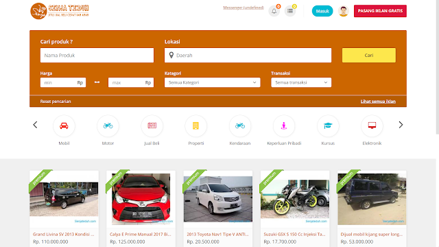 Source Code Web Marketplace php