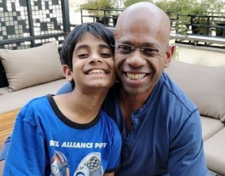 Aditya ghosh with daughter| 'Aditya Ghosh' (Indigo EX President) Biography, Wiki, Age, DOB, Indigo EX President