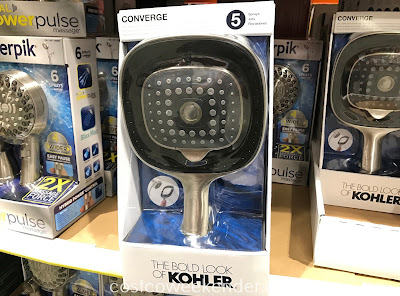 Make showering that much better with the Kohler Converge 2-in-1 Multifunction Showerhead and Handshower