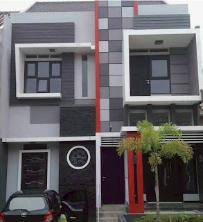 rumah minimalis 2 lantai tipe 36