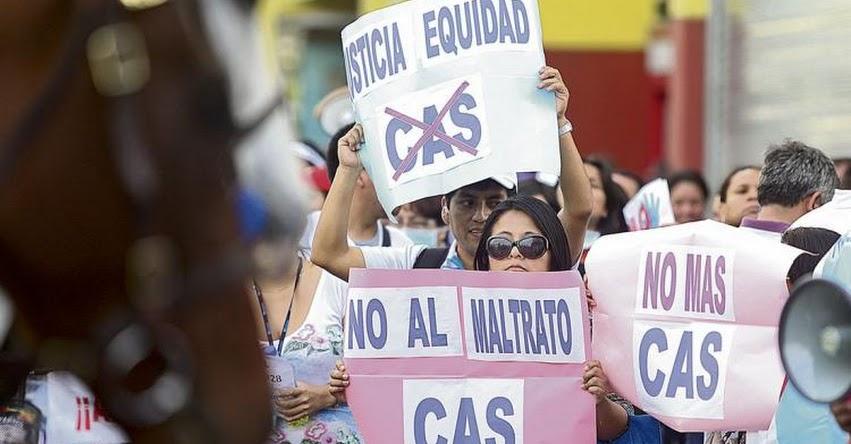 Más de 350 mil trabajadores CAS esperan el fallo del Tribunal Constitucional