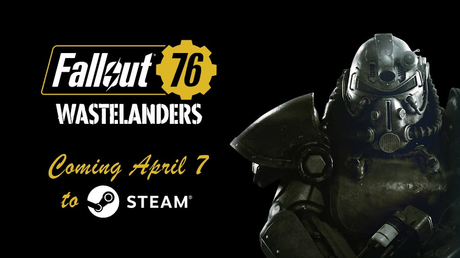 fallout 76 wastelanders free update release date april 7 steam launch pc online action role-playing game bethesda softworks