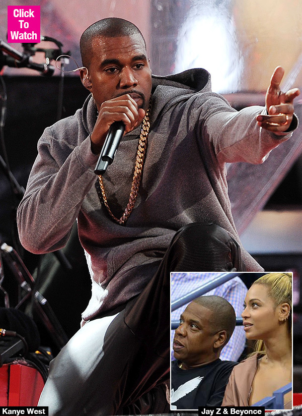 Kanye West Slams Beyonce & Jay Z For Not Visiting Kim After Robbery: Watch Angry Rant