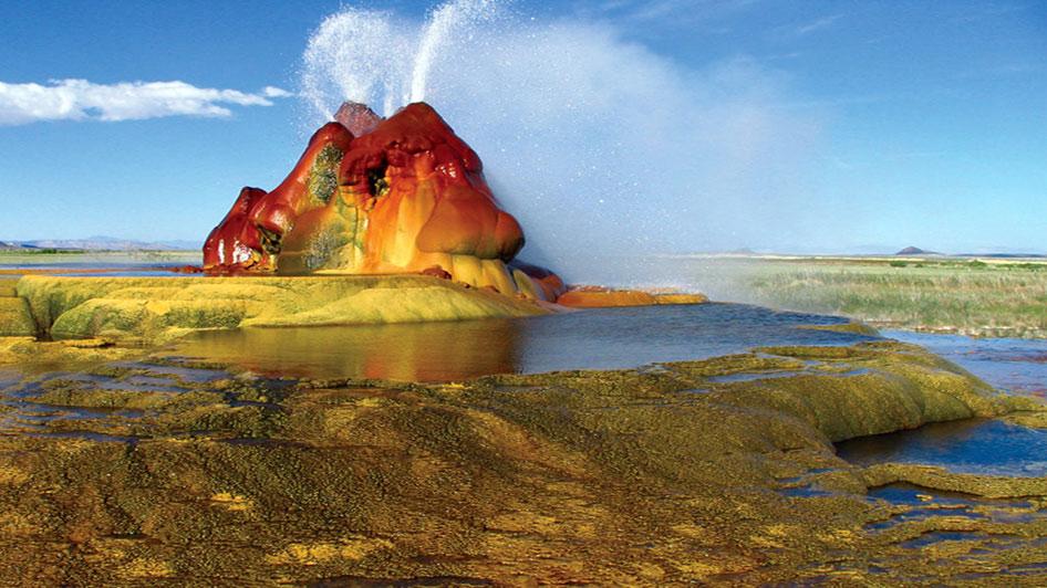 the fly geyser nevada