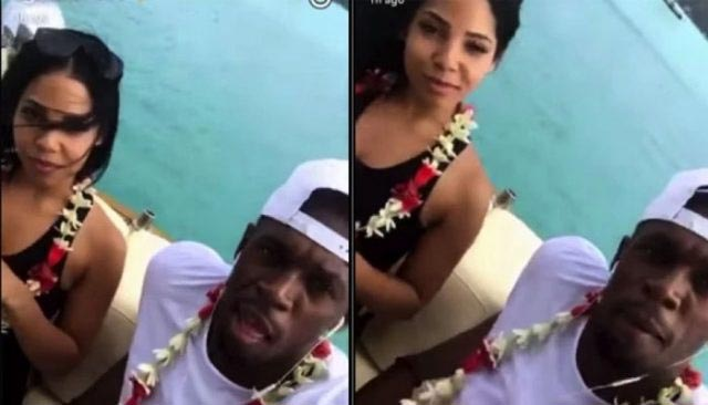 Looks like Usain Bolt is now engaged to girlfriend Kasi Bennett