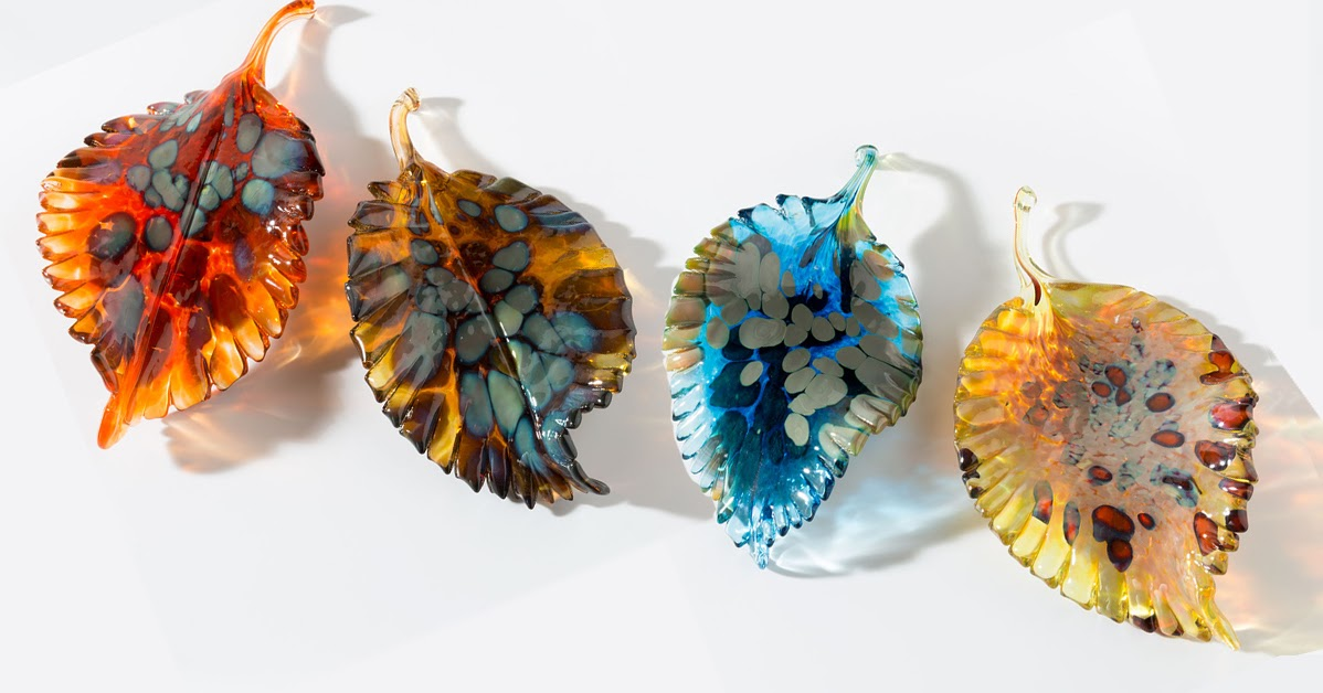 Artifacts How It S Made Autumn Glass Leaves