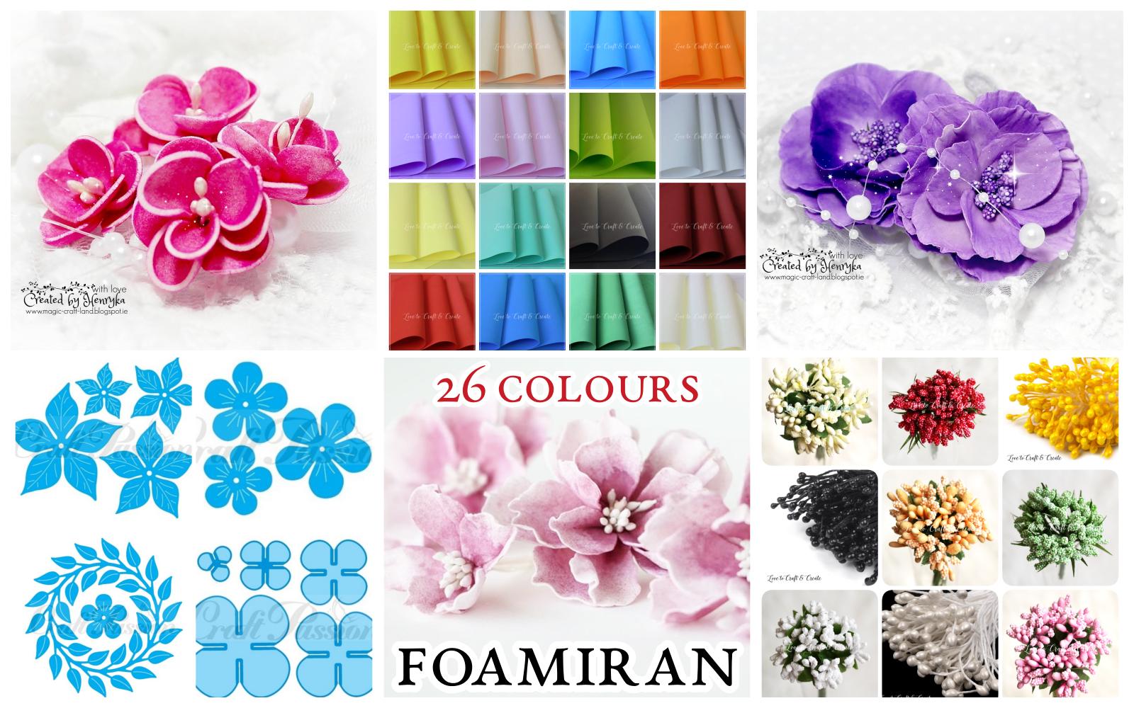Love To Craft Create New Beautiful Foamiran Flowers