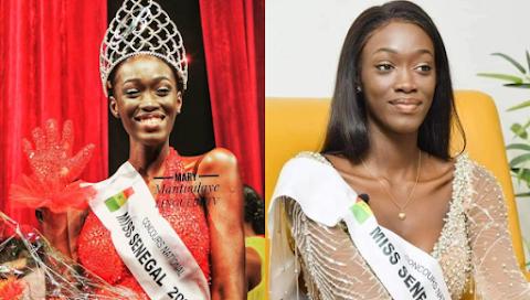 Ndèye Fatima Dione es Miss Senegal 2020