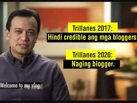 WATCH: Trillanes haters ng mga Blogger ngayon naging Blogger na rin