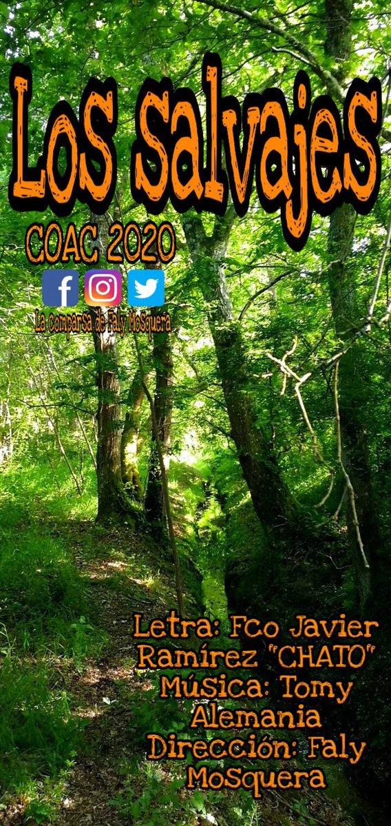 """La comparsa de Fali Mosquera será para el COAC 2020 """"Los salvajes"""""""