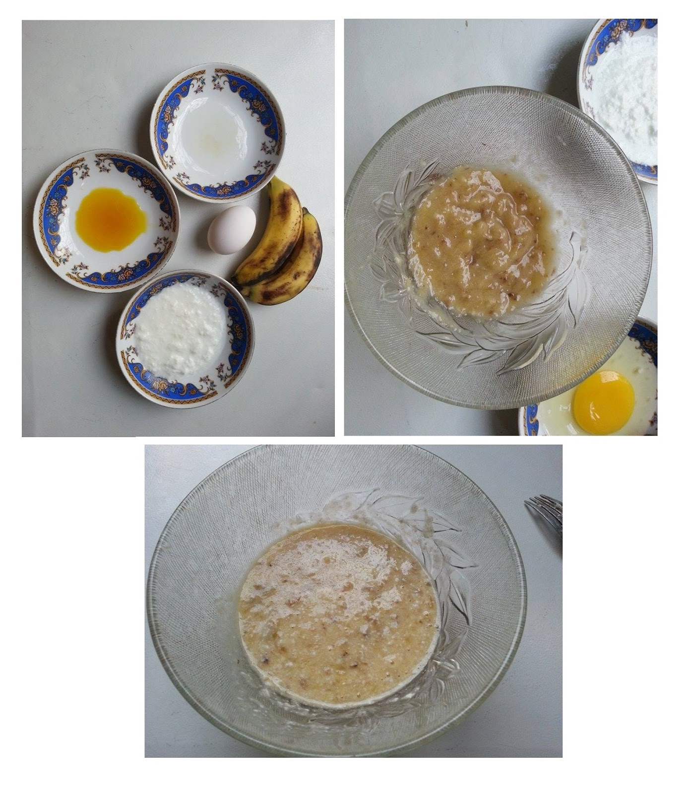 Banana Yogurt and Egg Mask For Hair treatment