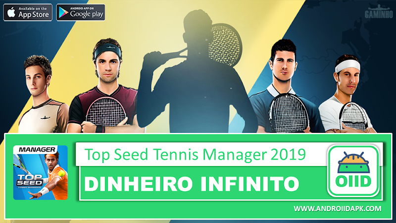 TOP SEED – Tennis Manager – APK MOD HACK – Dinheiro Infinito