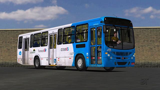 OMSI 2 - Marcopolo Torino 2007 VW 17.230 EOD padrão ES com 5 portas
