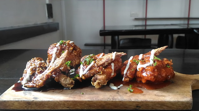 spicy and sweet chicken wings