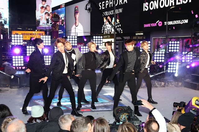 BTS Showed Off The Best 2020 Menswear at Their Times Square Concert
