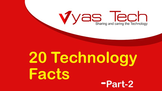 20 Amazing Technology Facts part - 2