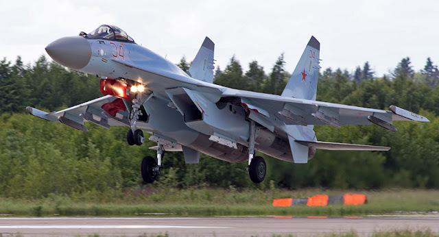 Ρωσικά μαχητικά Su-35 σταμάτησαν τουρκικά F-16
