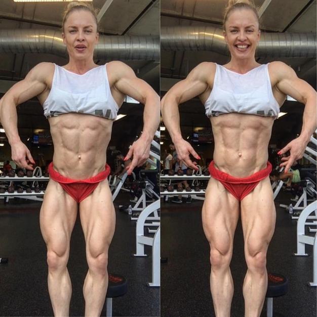 Female Bodybuilding, Type Program for a Dream Physics