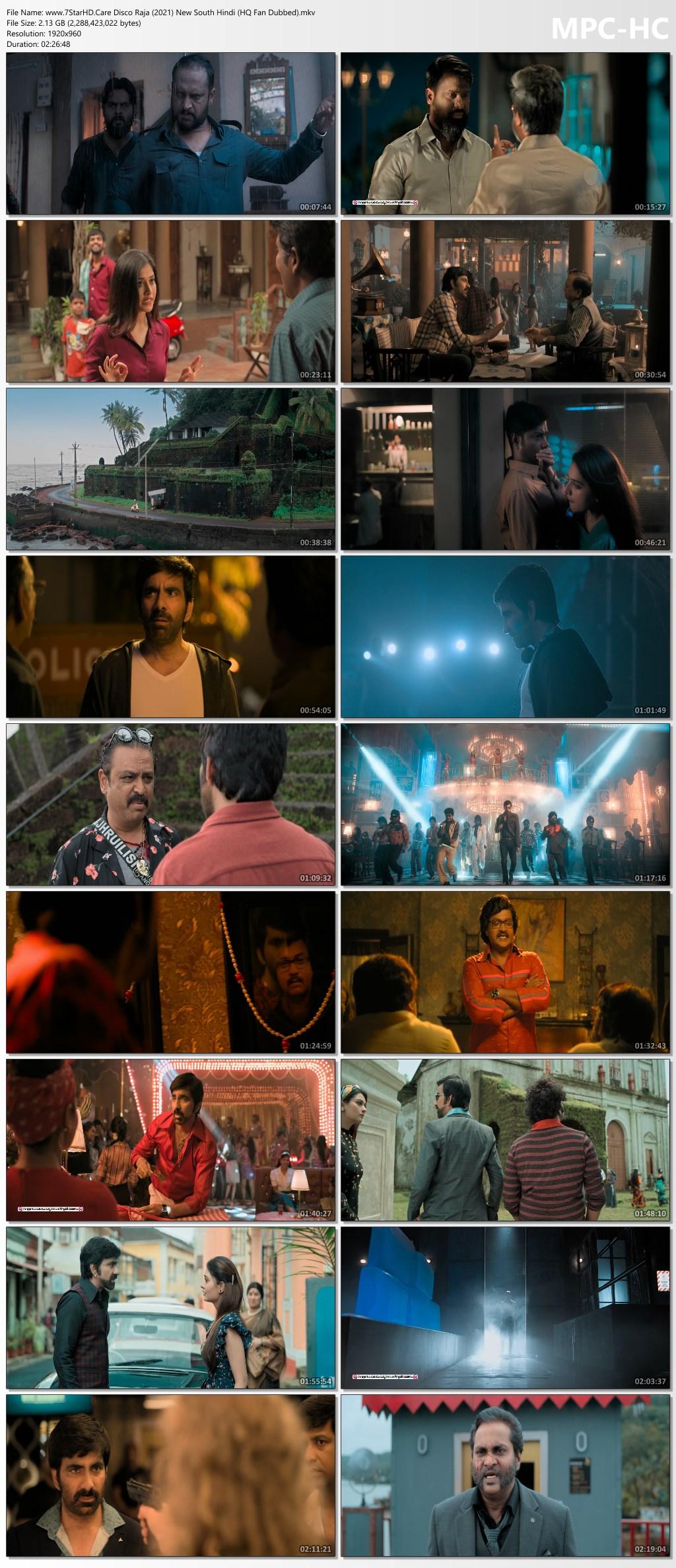 Disco Raja (2021) Hindi Dubbed 750MB WEB-DL 720p HEVC x265 ESubs Download