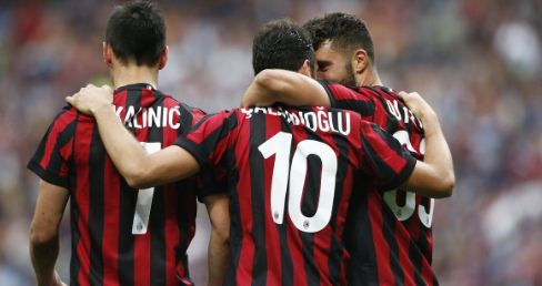 AC Milan vs Fiorentina 5-1 Highlights
