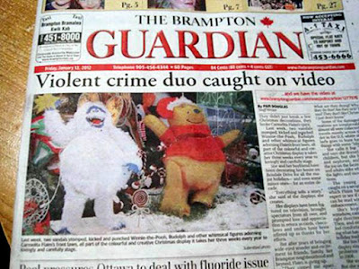 brampton guardian headline funny fail