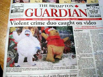 brampton guardian headline funny fail