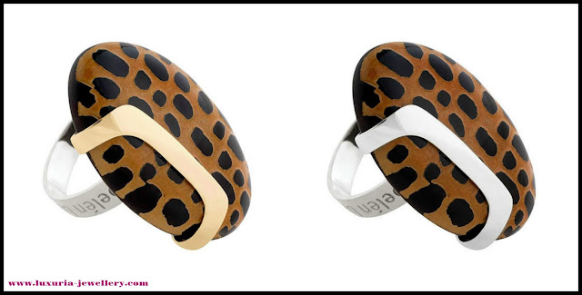 leopard fashion, animal print jewellery, statement cocktail rings, leopard print jewellery