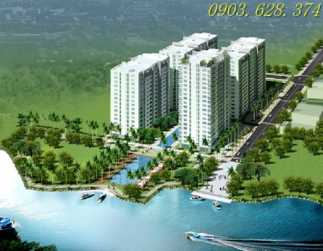 Căn hộ 4S2 Riverside Linh Đông - Căn hộ với tiện ích Resort