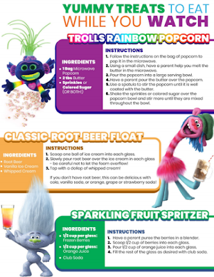 Trolls World Tour Recipes