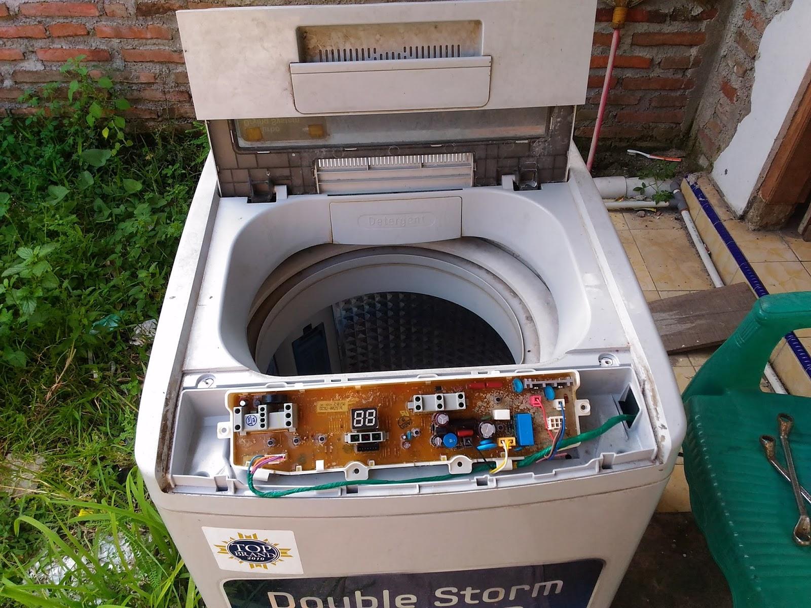 Mesin Cuci Samsung Power Mati