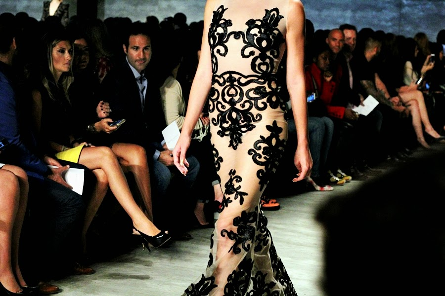 michael costello show at lincoln center mercedes benz new york fashion week