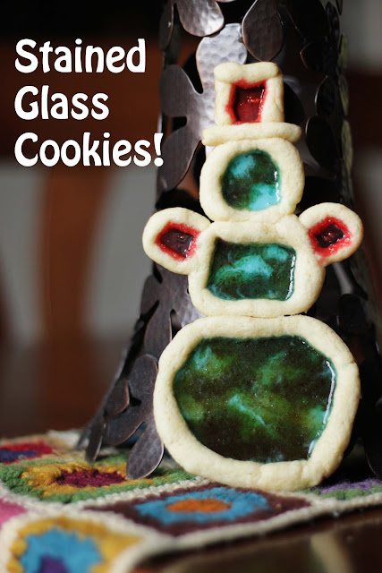 hard candy stained glass cookies