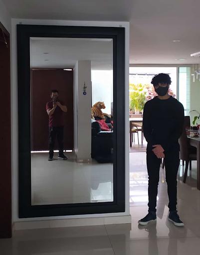 Espejos biselados de alta calidad