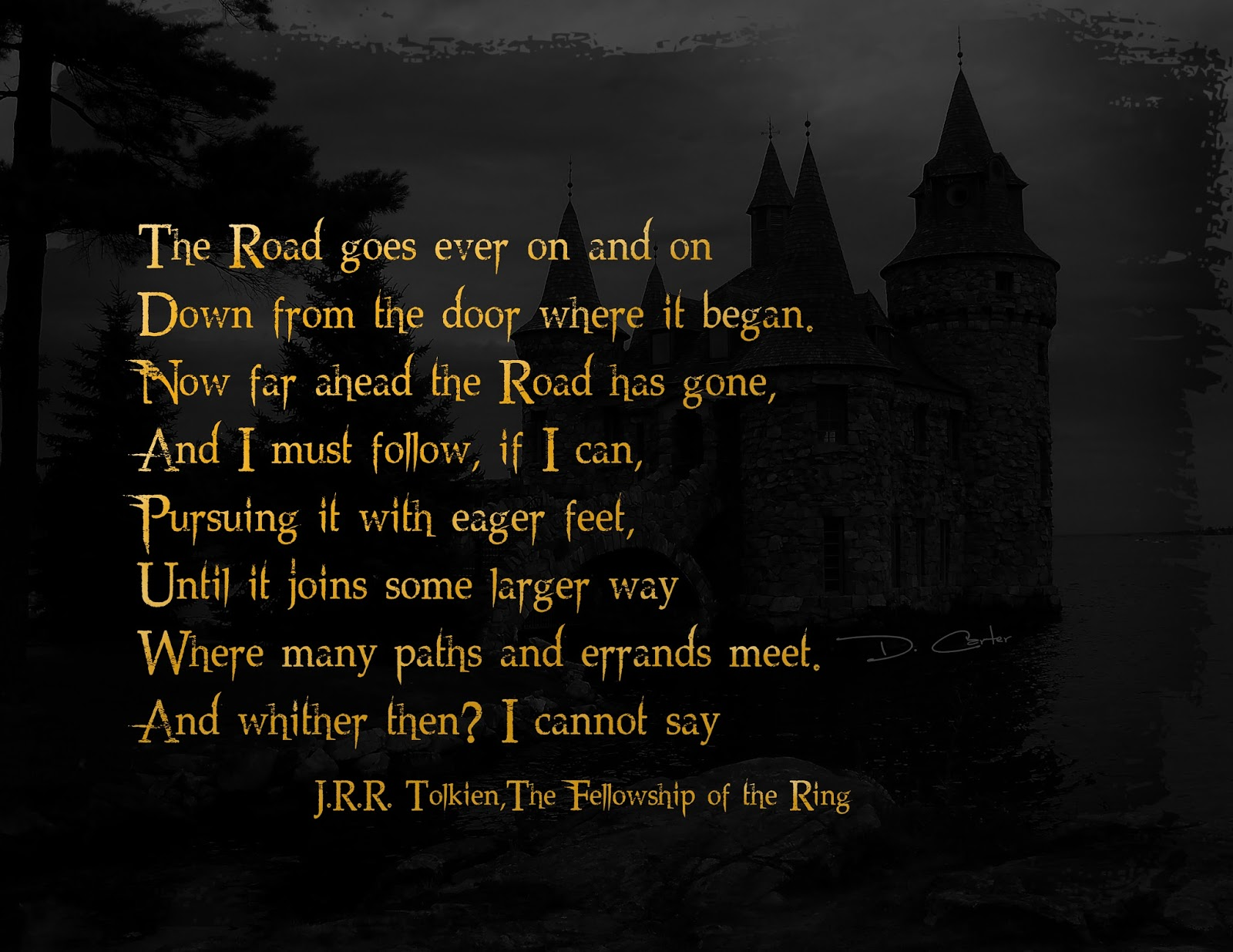Jrr Tolkien Quotes About Life Inspiration Brona's Books The Fellowship Of The Ringj R Rtolkien
