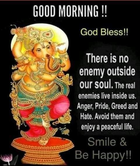 Good morning ganesh images in hindi