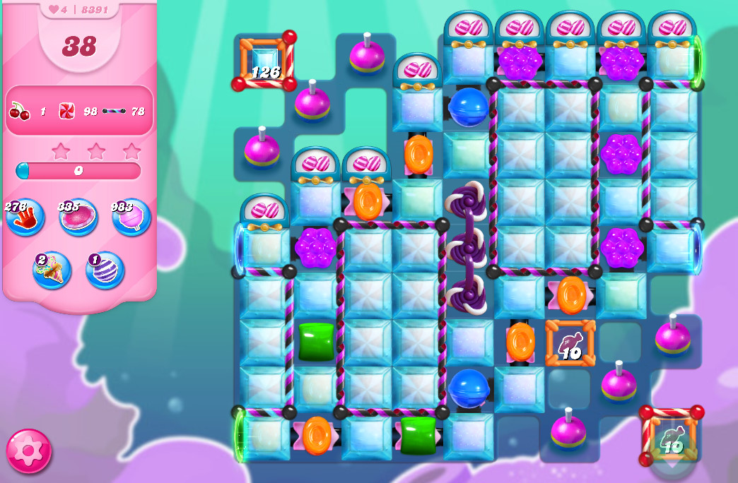 Candy Crush Saga level 8391