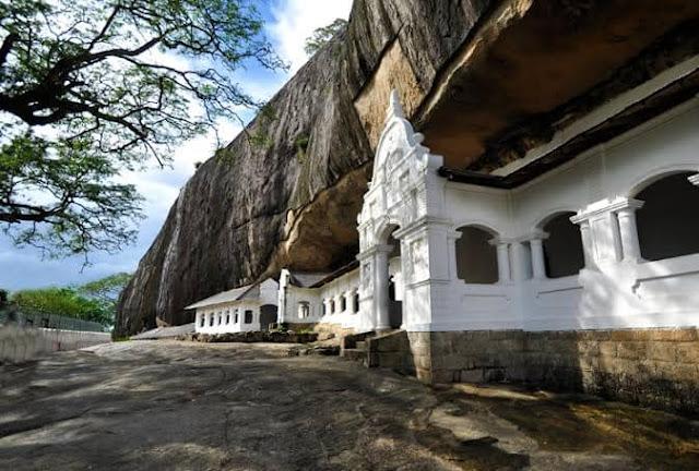 Candi Gua Dambulla Srilanka.