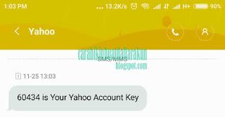cara daftar buat email baru di yahoo lewat hp