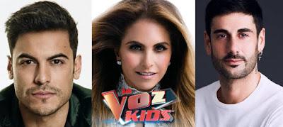 Carlos Rivera, Lucero y Melendi en La Voz Kids