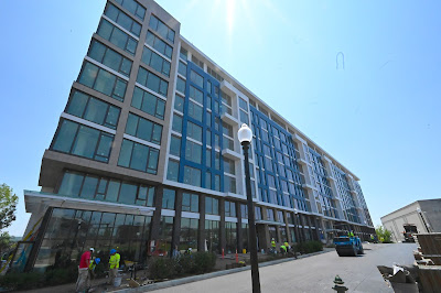 Douglas Developments's Watermark project at Buzzard Point adds new residential units to southwest Washington DC