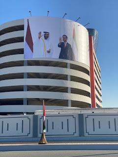 Pemerintah UEA Resmikan Nama Jalan Presiden Jokowi di Abu Dhabi