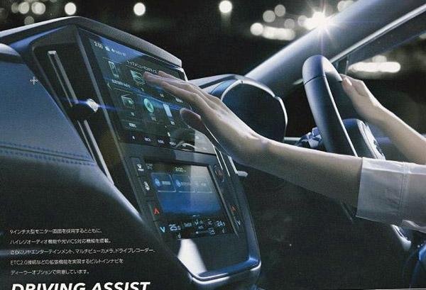 Burlappcar: 2021 Subaru Levorg: a look inside.