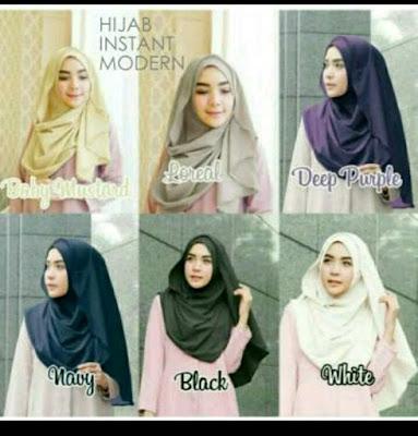 tutorial hijab segi empat simple dan modis untuk remaja