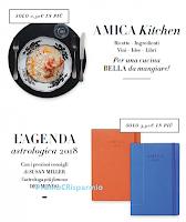 Logo Con AMICA di dicembre l'agenda 2018, Amica Kitchen e in regalo...