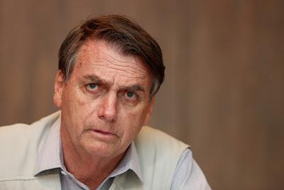 Avaliação negativa de Bolsonaro salta de 19% para 39,5%, diz CNT/MDA