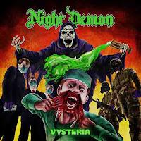 """Το single των Night Demon """"Vysteria"""""""